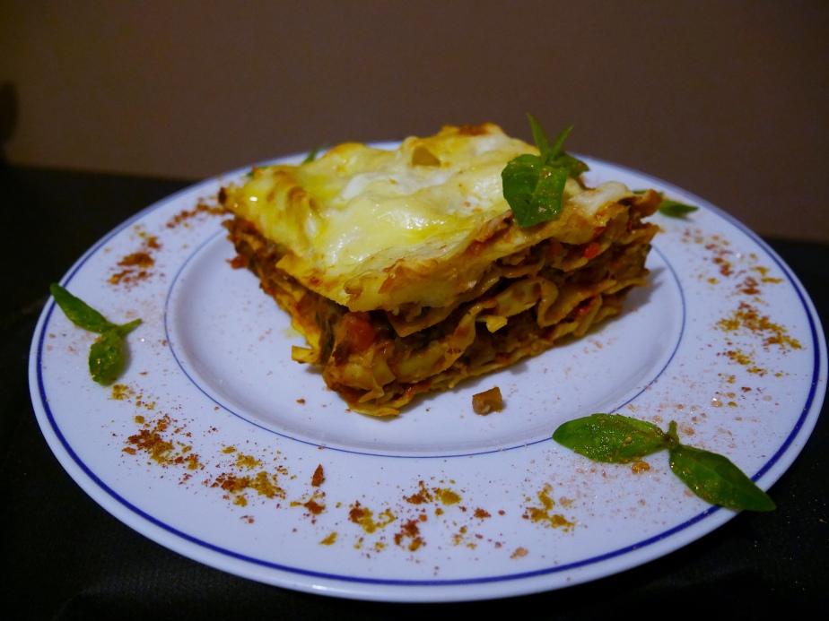 Lasagnes Bœuf etAubergines