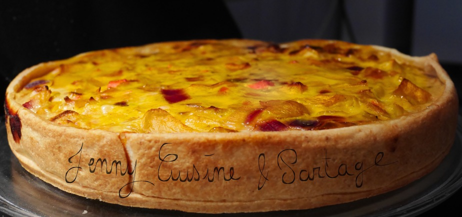 ~Quiche Endives/Pommes~