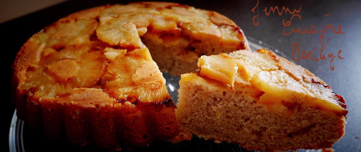 Gâteau au yaourt ananas/banane/Tonka/vanille
