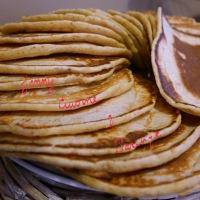 Pancakes à la farine complète, sans lactose