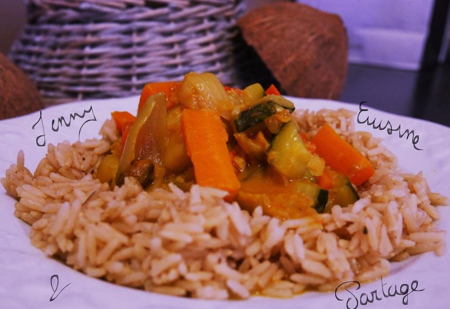 ~Curry de patates douces (lait decoco)~