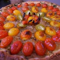 Tarte Oignons de Toulouges Tomates Cerise Façon Fête du Four