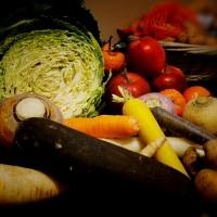 Différents légumes oubliés