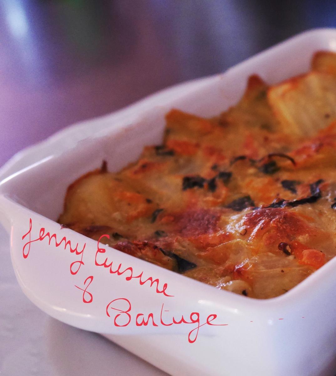 Côtes de bettes ( blettes) en gratin