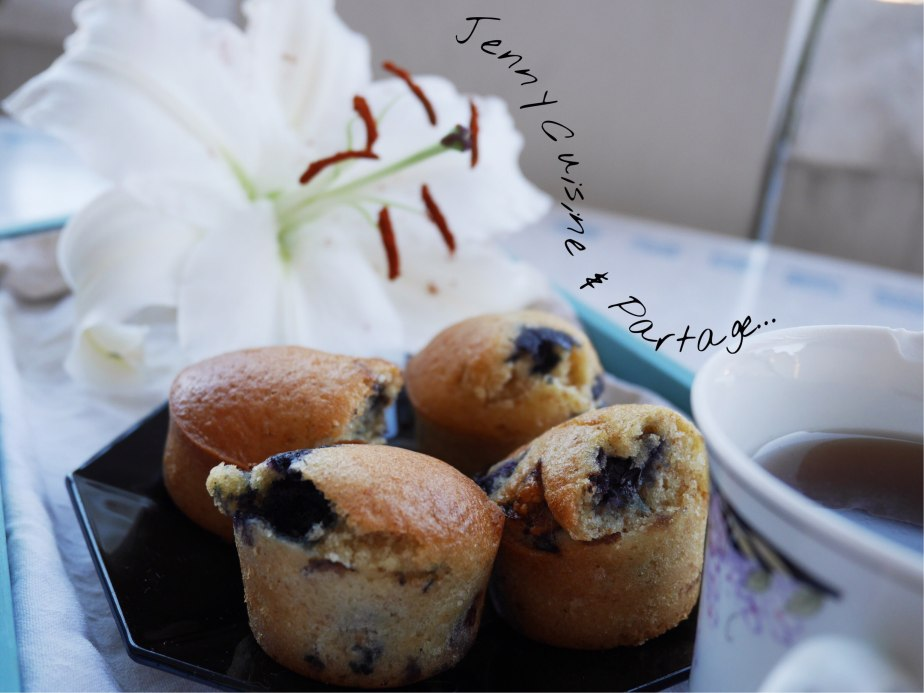 Muffins à lamyrtille