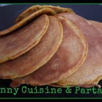 Pancakes salés aux légumes sans lactose
