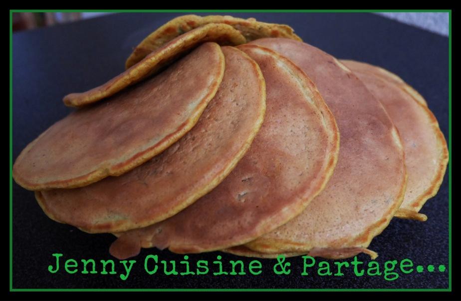 Pancakes salés aux légumes sanslactose