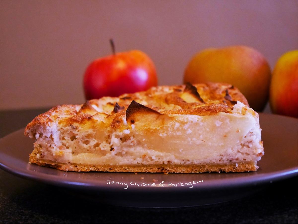 """Gâteaux aux pommes, """"C'est pas de la tarte mais presque! 😉"""""""