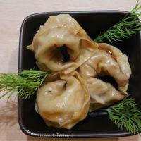 Ravioles au poulet cuisson vapeur
