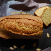 Cake au beurre d'amande et citron. Pour du peps à l'heure du thé !