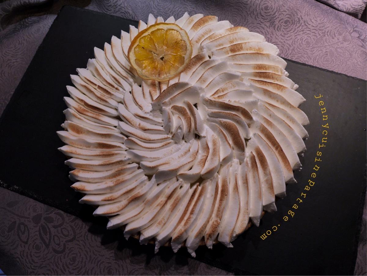 Tarte au citron Conticissime !!!