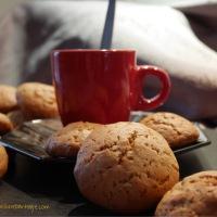 JennyCookies ! Biscuits beurre d'amandes et miel 🍯