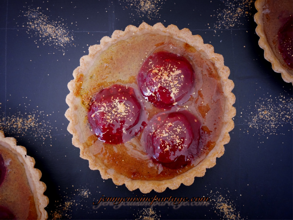 Tartelettes amandes/fruits rouges
