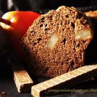 Petits moelleux choco/poires ( sérac de brebis )