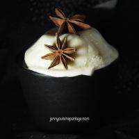 Glace vanille/anis étoilé