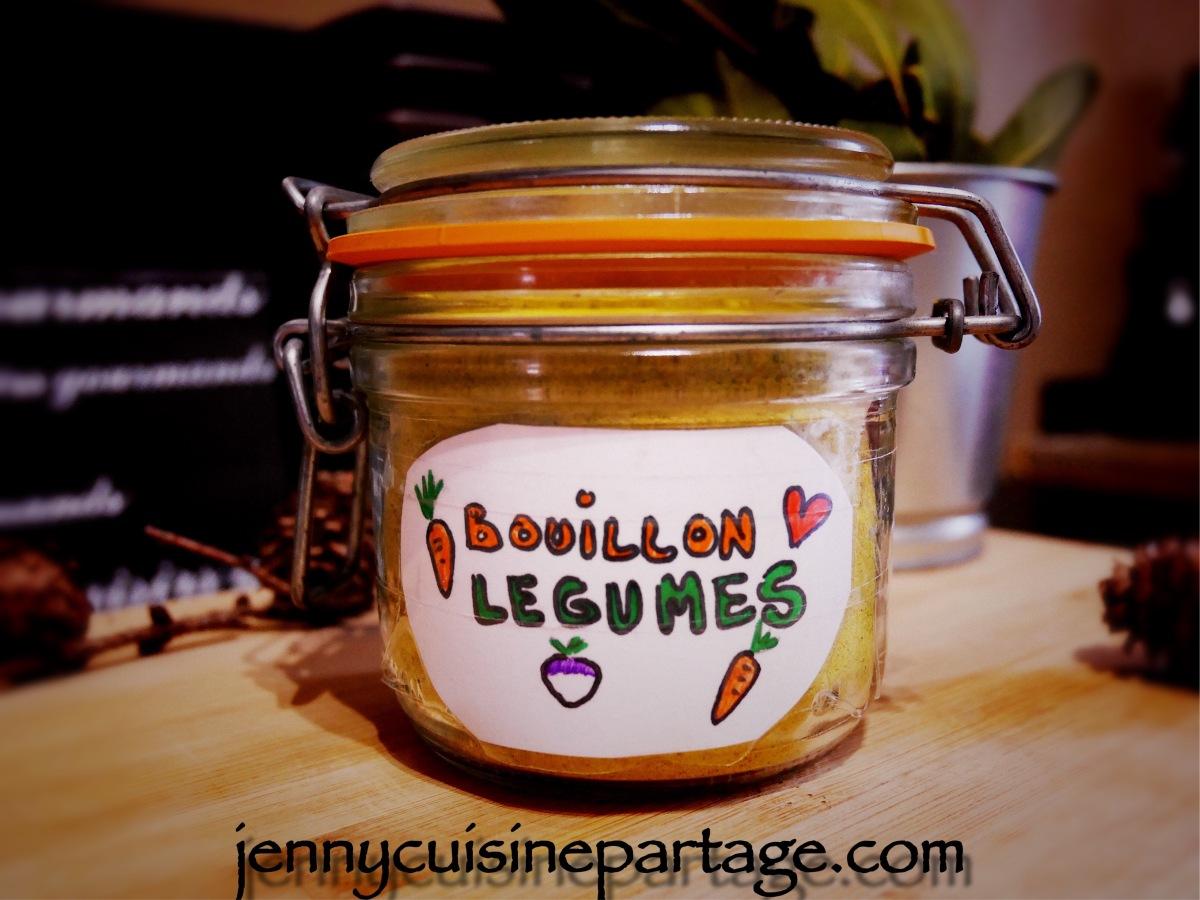 Bouillon de légumes déshydraté (assaisonnement)