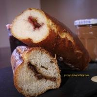 Pain viennois à la pâte à tartiner maison